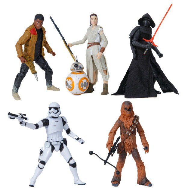 Black Series The Force Awakens 6 Inch Figures