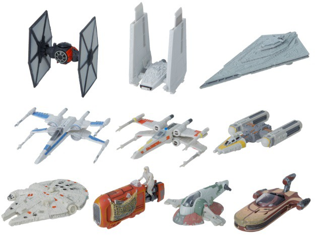 Black Series The Force Awakens Vehicles