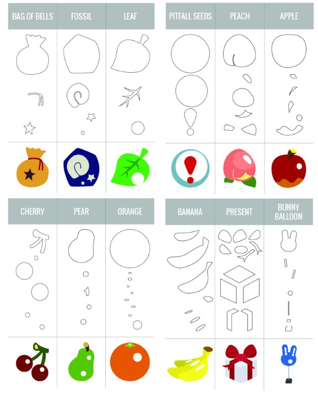 Free Animal Crossing Stencil Patterns