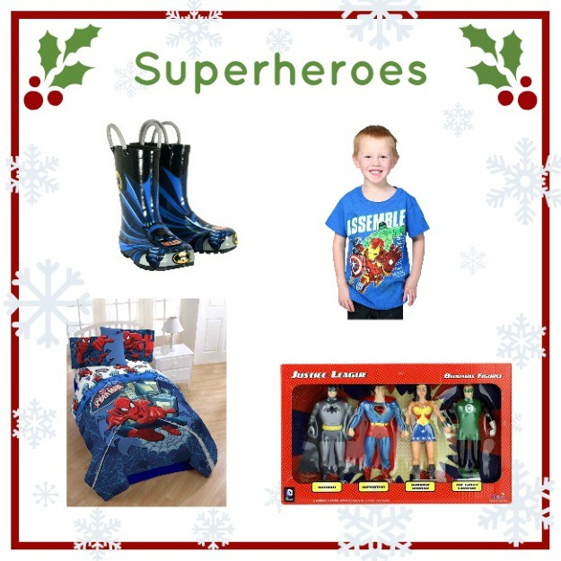 Superhero gifts for boys