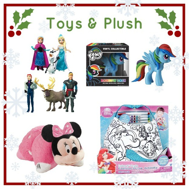 Toy and plush gifts for girls