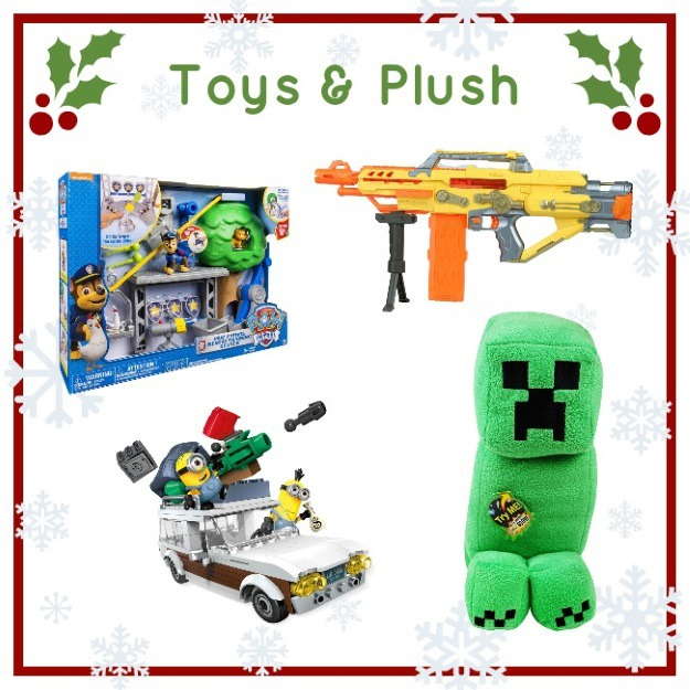 Toy and plush gifts for boys