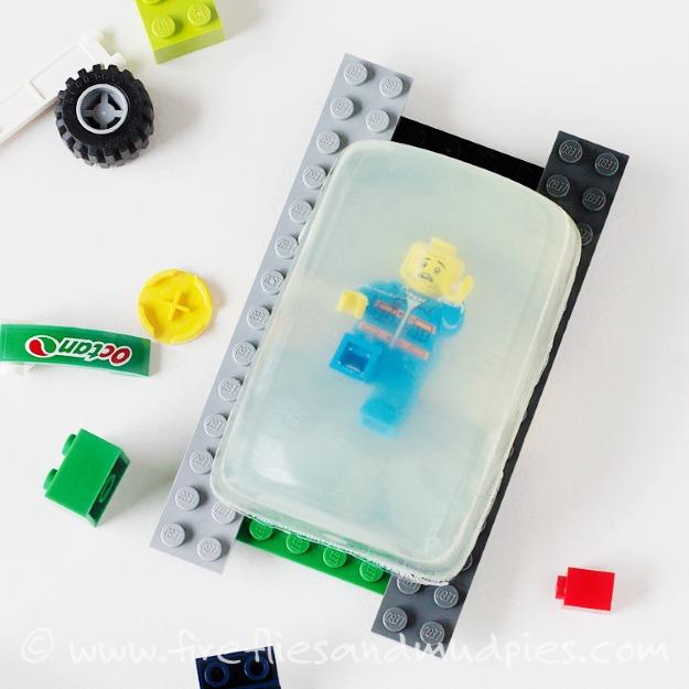 DIY Lego Soap Gifts