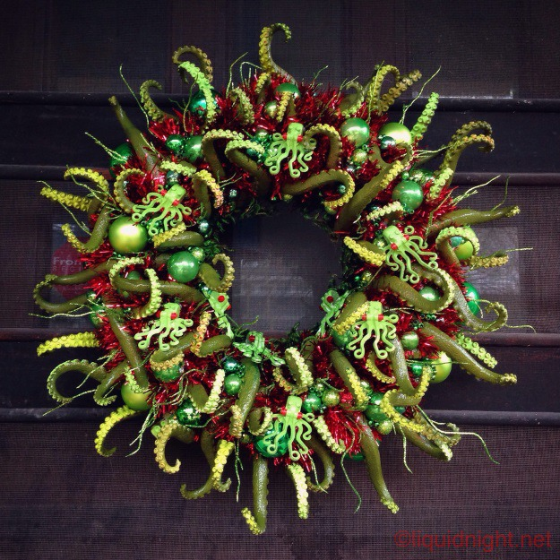 DIY Cthulhu Wreath
