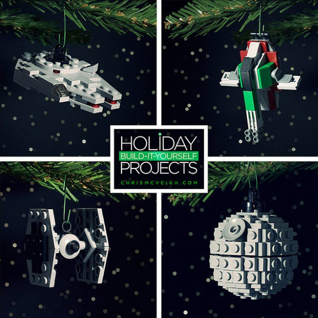LEGO Star Wars Christmas Ornaments DIY