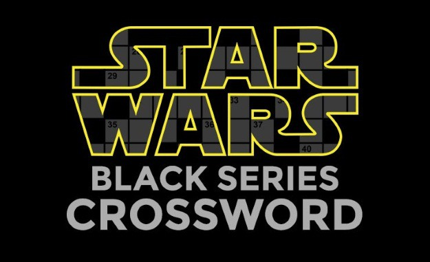 Star Wars: Black Series Crossword
