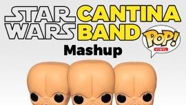 Star Wars Cantina Band: A Pop Vinyl Mashup
