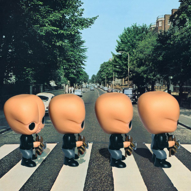 Cantina Band as The Beatles