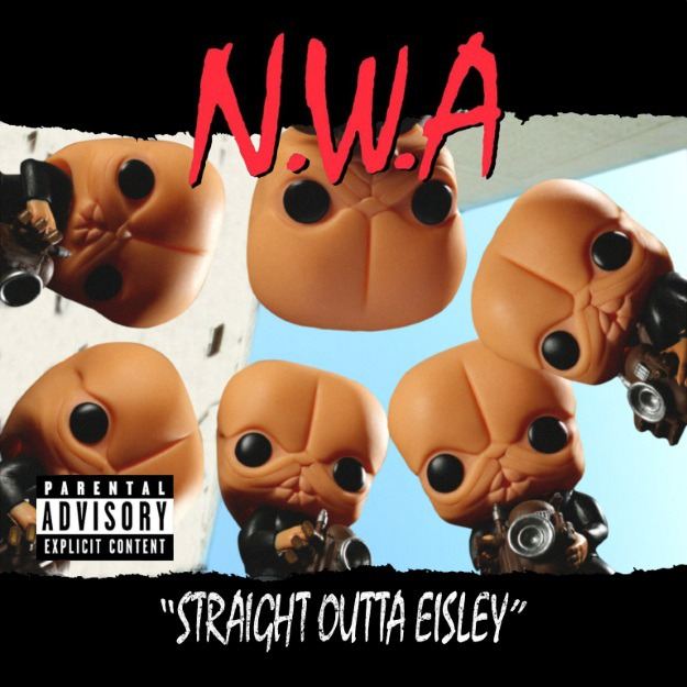 Cantina Band as N.W.A.