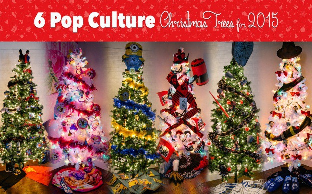 6 Pop Culture Christmas Trees For 2015