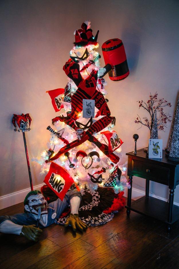 Joker Christmas Ornament.6 Pop Culture Christmas Trees For 2015 Fun Blog