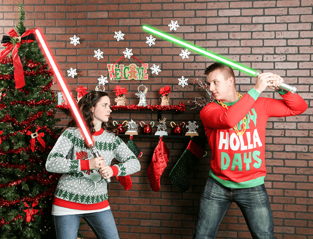 Star Wars Christmas Picture