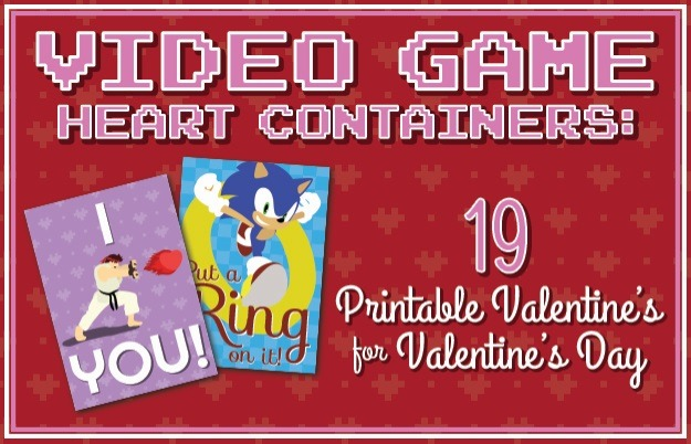Video Game Heart Containers