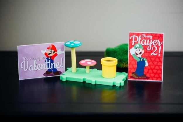 Super Mario Bros. Valentines