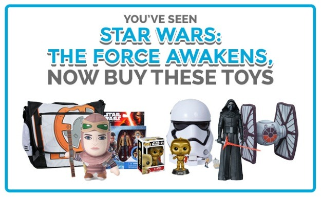 star wars force awakens toys