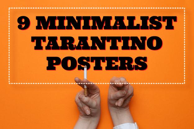 9 Minimalist Tarantino Posters