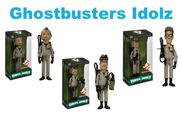 Ghostbusters Funko Idolz Figures
