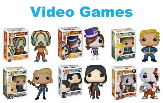 Video Games POP! Vinyl