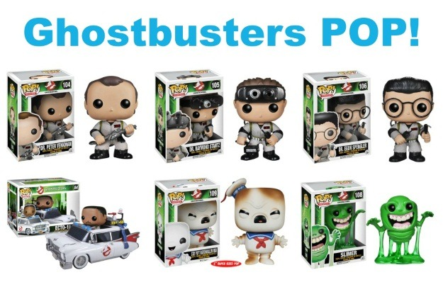 Ghostbusters Funko POP! Figures