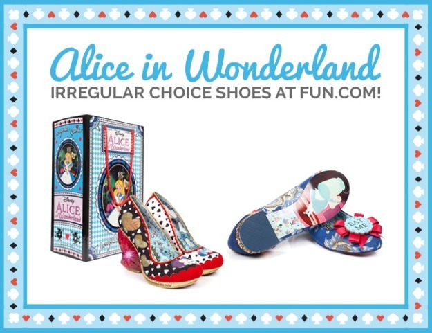 Irregular Choice Alice in Wonderland Shoes on Fun.com
