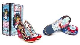 Irregular Choice Alice in Wonderland Shoes on Fun.com