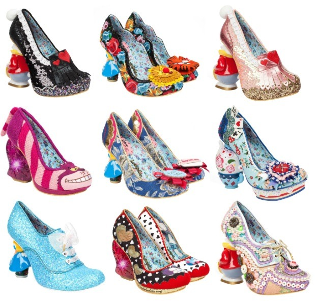 Irregular Choice Alice in Wonderland Heels