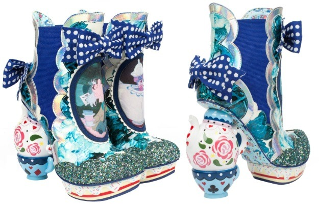 Irregular Choice Alice in Wonderland Boots