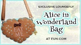 Exclusive Loungefly Alice in Wonderland Purse