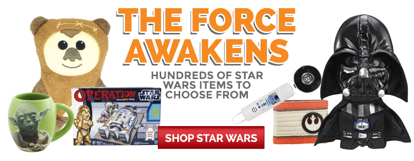 The Force Awakens: Hundreds of Star Wars Items to Choose From