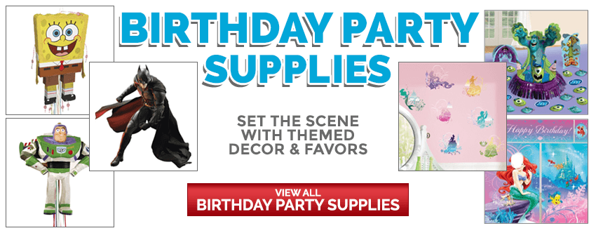 Birthday Party Supplies: Set the Scene with Themed Decor and Favors
