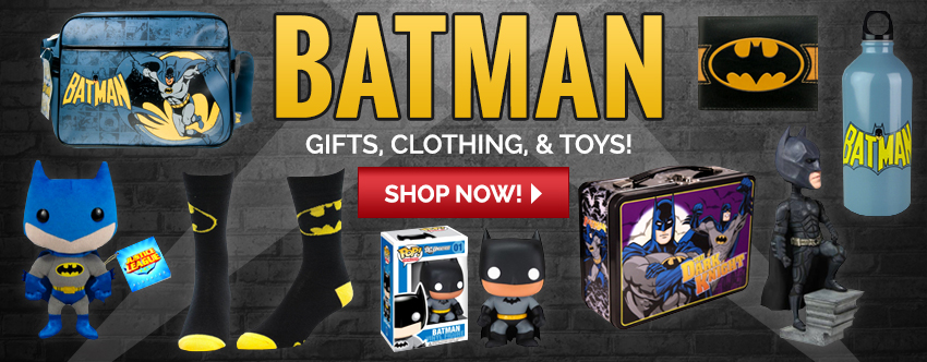 Batman Gifts, Clothing and Toys