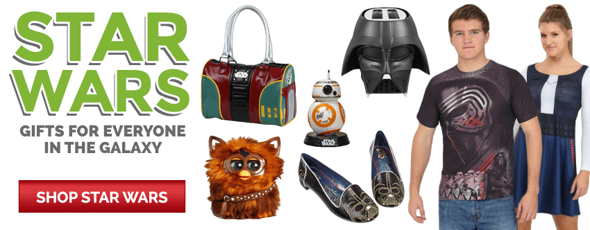 Star Wars gifts for everyone in the galaxy!