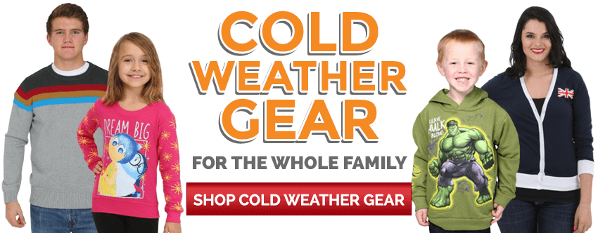 Cold weather gear for the whole family