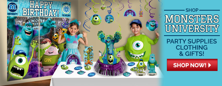 Monster's University Gifts