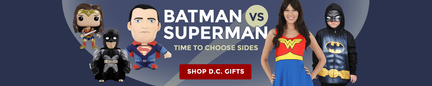 Batman vs Superman - time to choose sides!