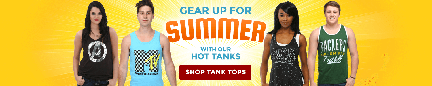 Gear up for summer with our hot tanks!