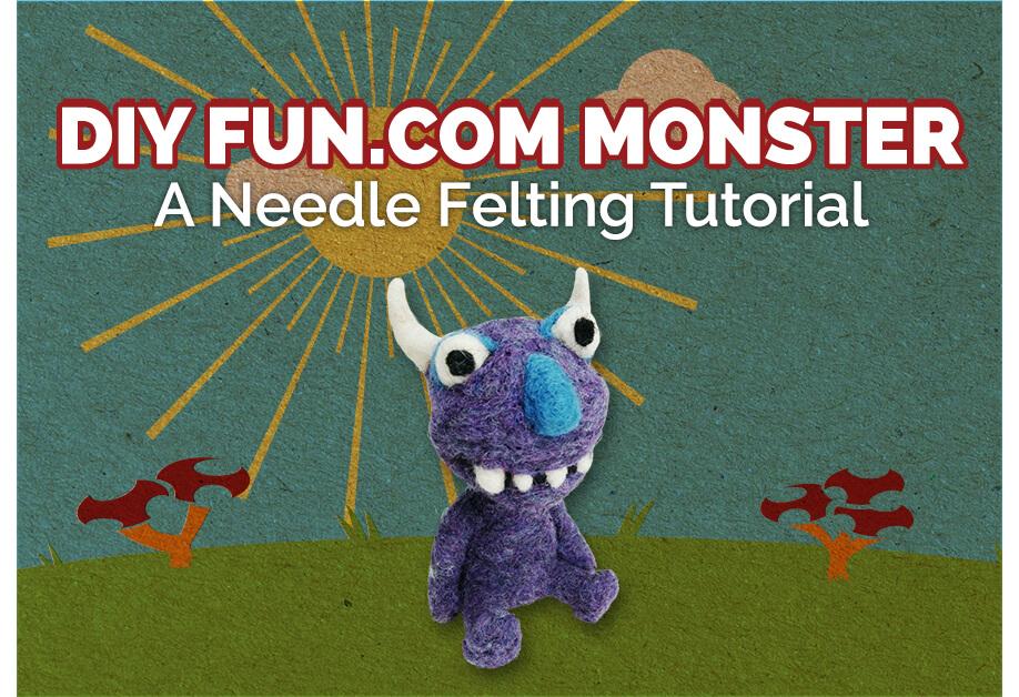 DIY Fun.com Monster