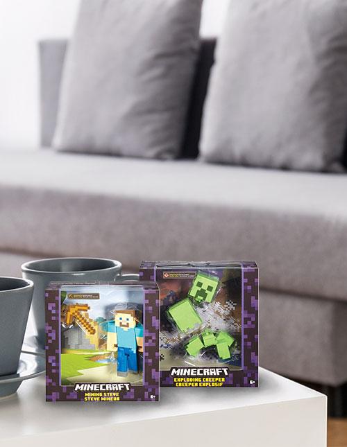 Classic Minecraft Action Figures