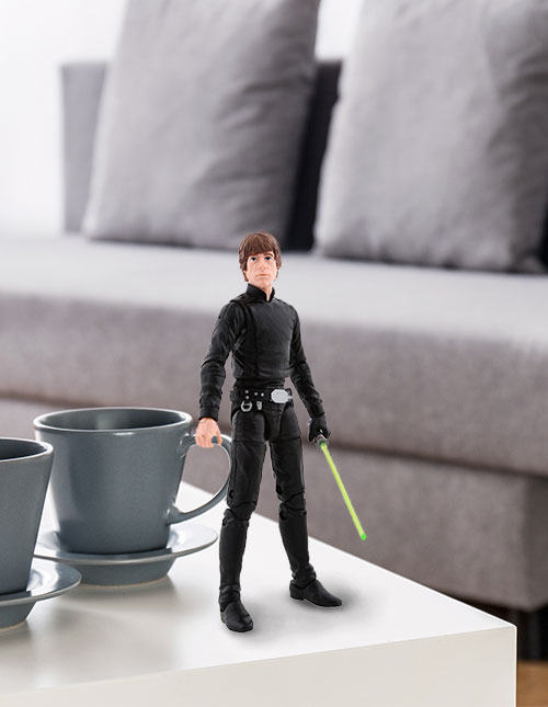 Luke Skywalker Black Series Figure