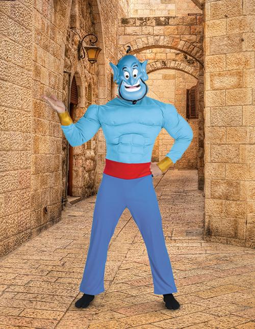 Genie Aladdin Costume