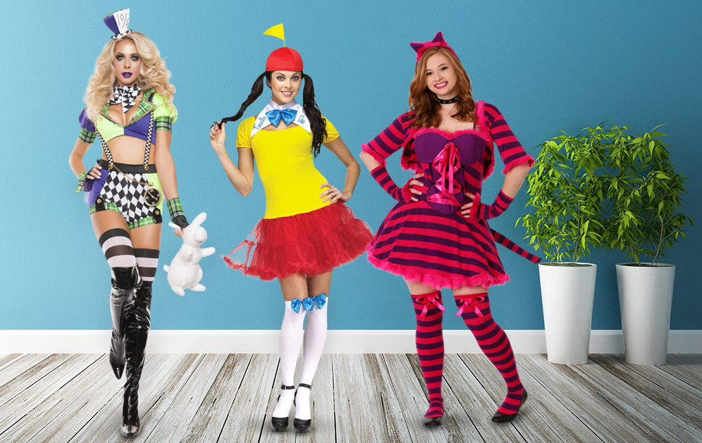 Sexy Alice in Wonderland Costumes