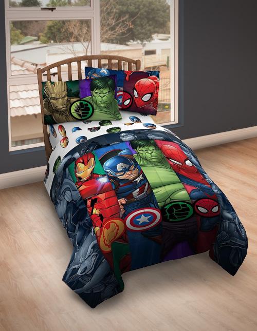Avengers Bed Set