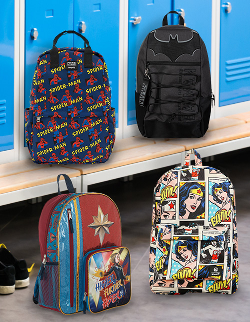Superhero Backpacks