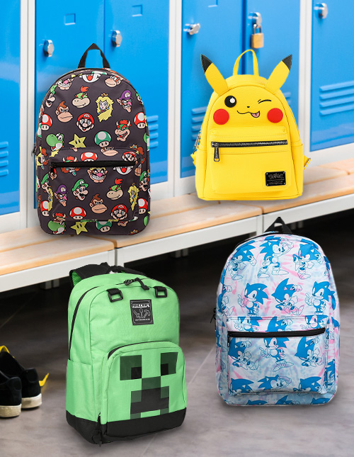 Video Game Backpacks