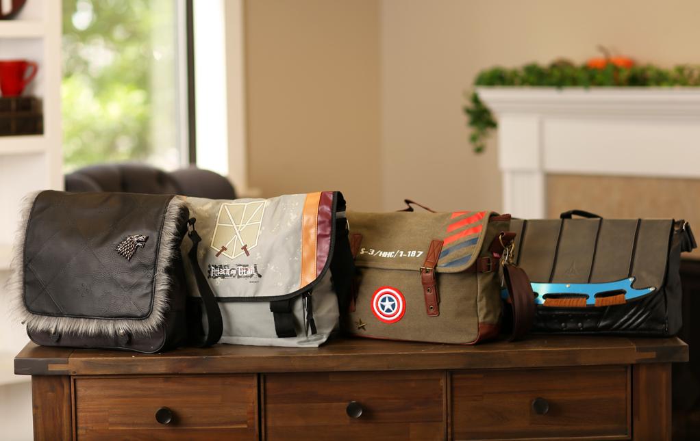Nerdy Messenger Bags