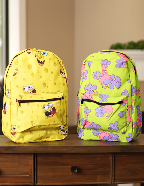 SpongeBob Backpacks