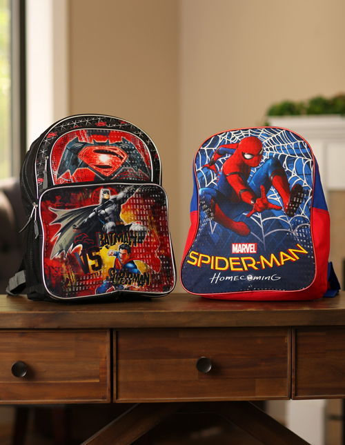 Superhero Backpacks for Kids
