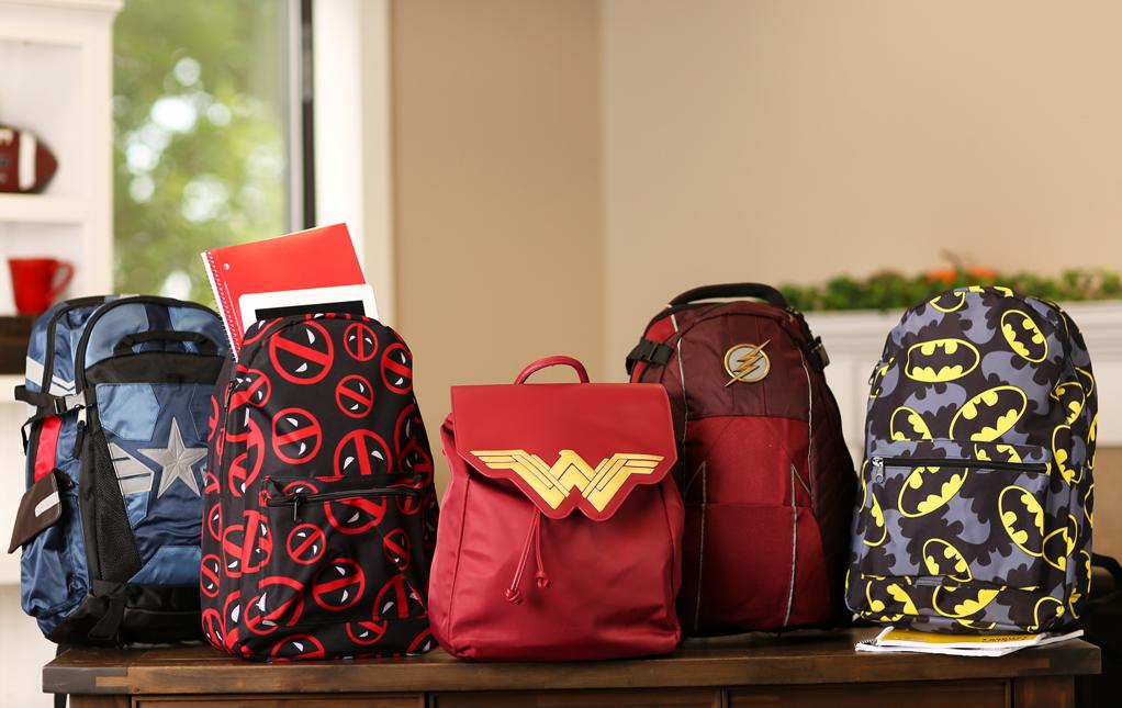 Superhero Backpacks