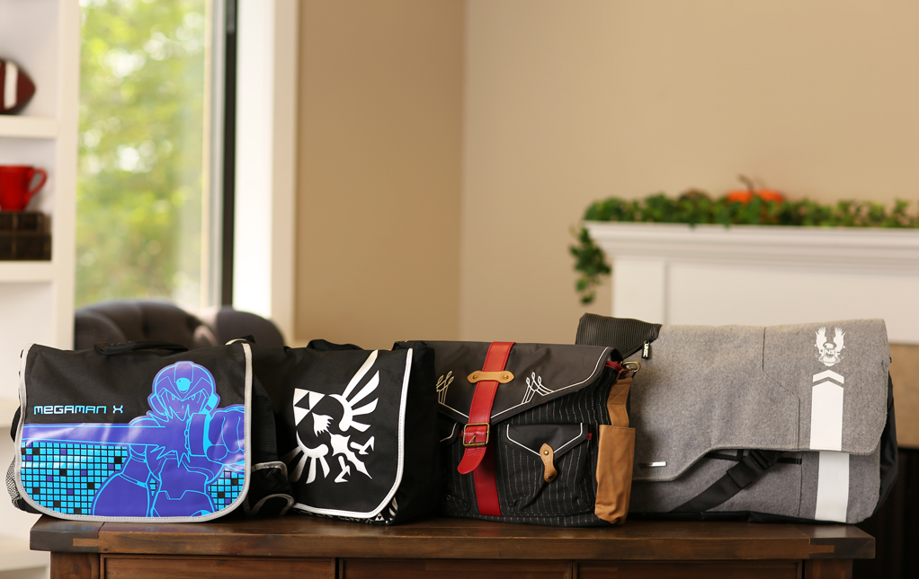 Video Game Messenger Bags