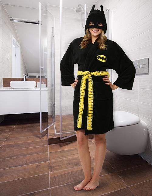 Batgirl Bathrobe